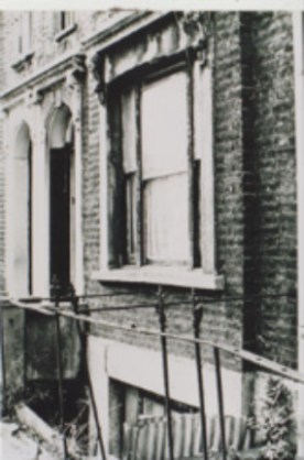 One of the first properties bought by the Limehouse Project, 1986