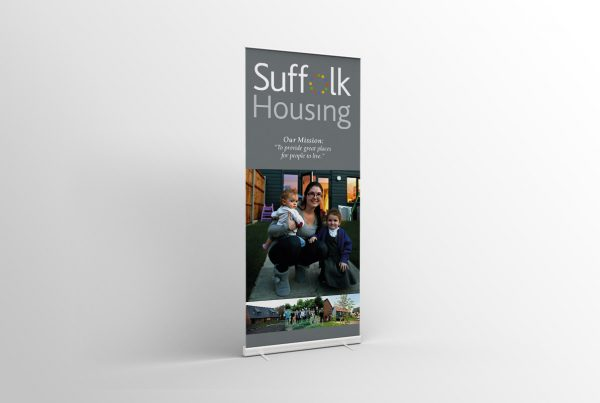 Pull up Banners in Bury St Edmunds, Suffolk