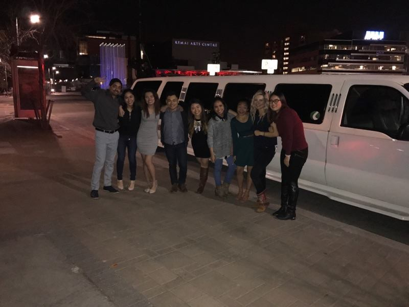 Limelight Limos Saskatoon Prairie Sun Brewery Night Out