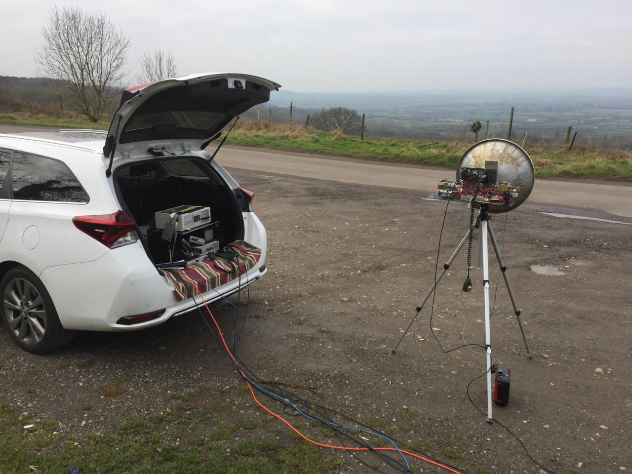 BATC Portsdown 2.4 GHz Transmission