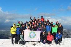 Mangerton Mountain summit