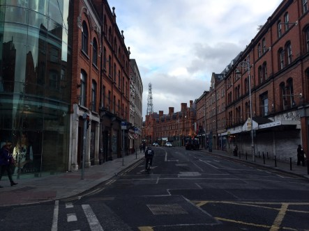 These streets in Dublin are so cool.