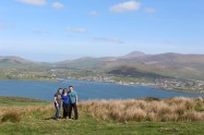 Me with my aunt and uncle on the Dingle Peninsula