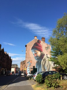 Check out the Glasgow Mural Trail.
