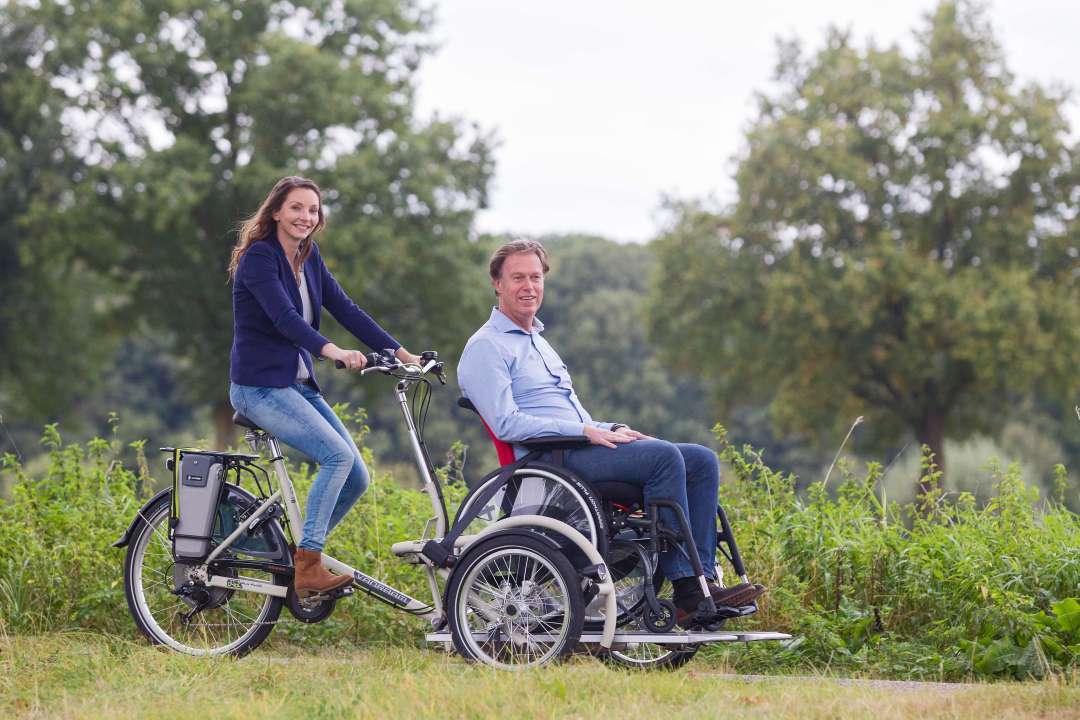 Velo Plus with Wheelchair Platform   Disability Bike Rental   Limerick Greenway
