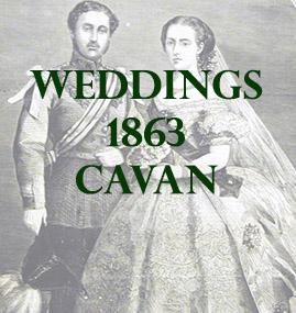 Cavan Weddings 1863