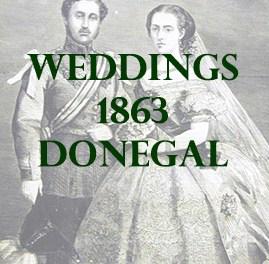Donegal Weddings 1863