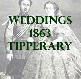 Tipperary Weddings 1863