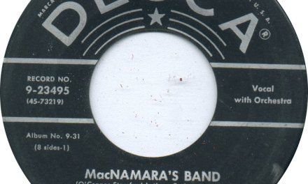 Limerick's McNamara's Band immortalised by Bing Crosby