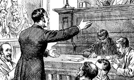 City Police Court July 1893
