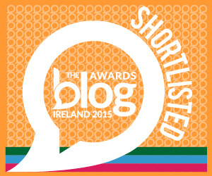Blog Awards Ireland ShortList Nomination 2015