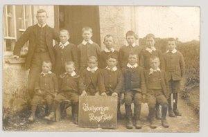 Ballyorgan N.S. circa 1916