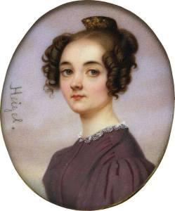 Portrait of Lola Montez by Josef Heigel (c.1840)