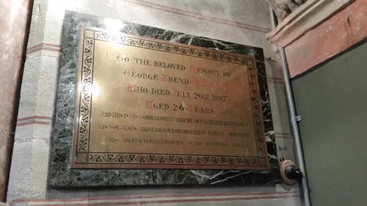 The Plaques of Abington Church
