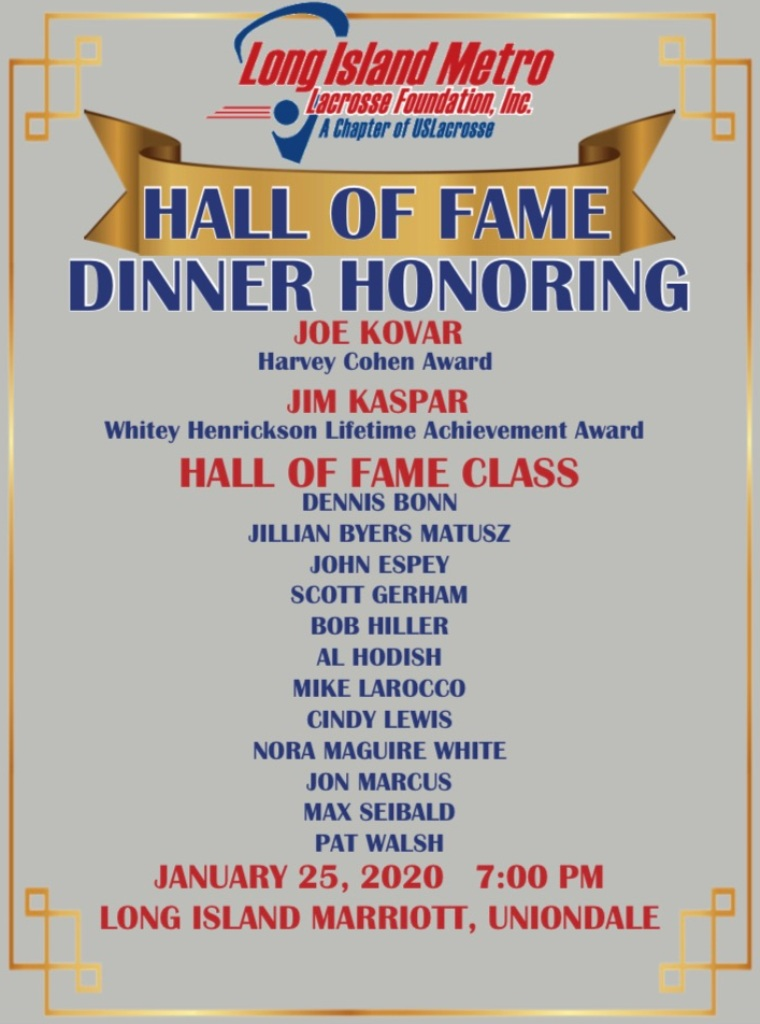 LIMLF Flyer for HOF