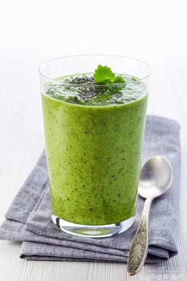 Gesunder Grüner Smoothie