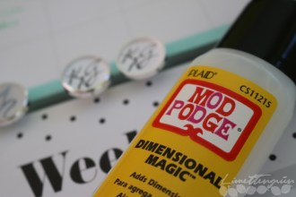 DIY: Manschettenknöpfe personalisieren