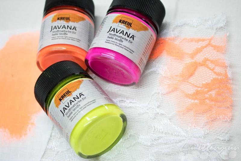 Stoff färben mit Neonfarben-5887