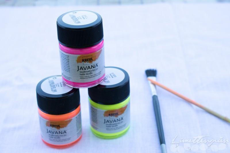 Stoff färben mit Neonfarben-5973
