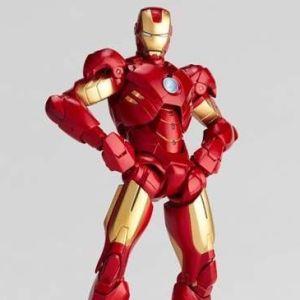 [BIB/A] SCI-FI Revoltech Series No.EX Iron Man Mark IV (MK 4) Exclusive Kaiyodo