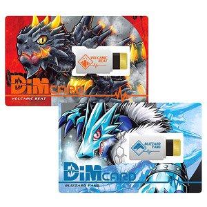 DIM CARD SET VOLUME 1 VOLCANIC BEAT & BLIZZARD FANG – BANDAI DIGITAL MONSTER – DIGIMON