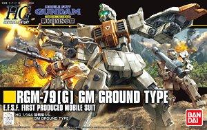 HGUC 1/144 GM GROUND TYPE BANDAI MODEL KIT