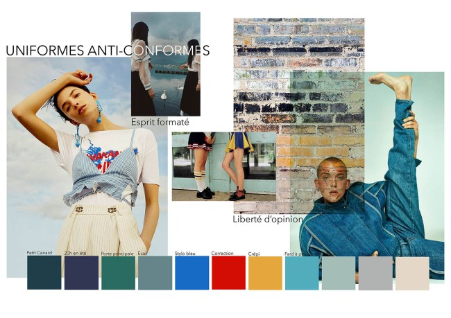 moodboard projet mode Limistic