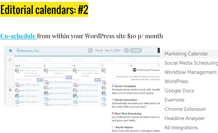 WordPress-Editorial-calendars