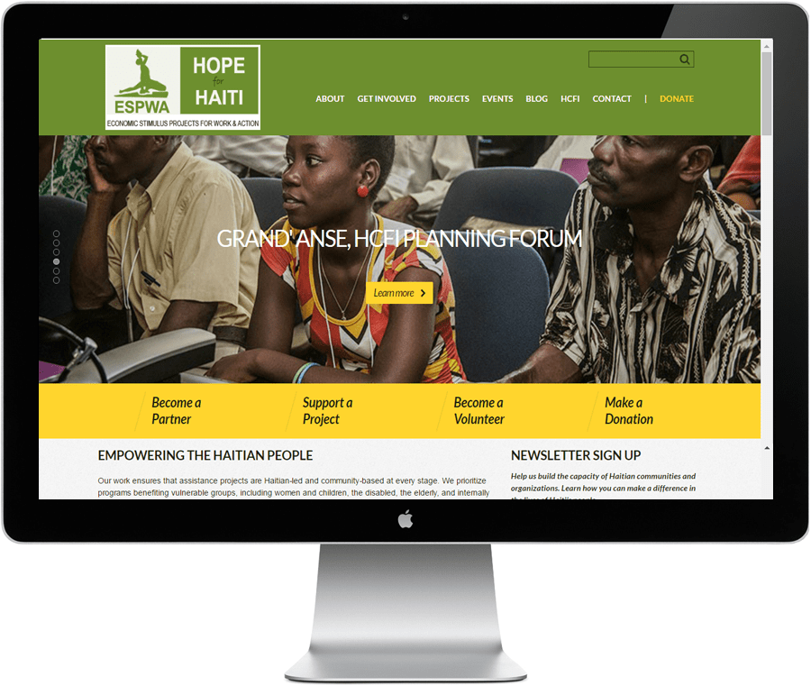 LIMIT8 launches new website: ESPWA-Haiti.org