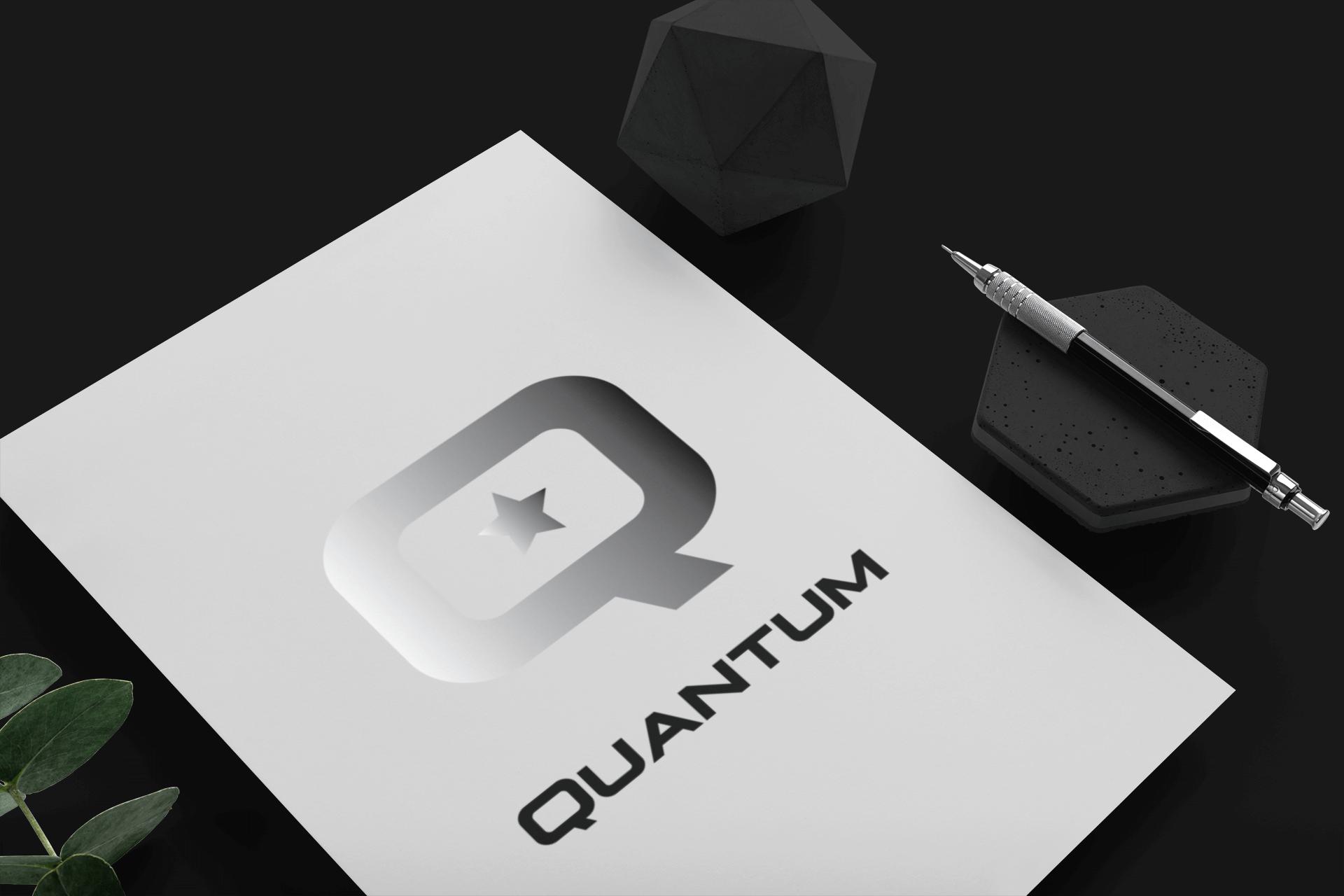 Logo Branding Quantum