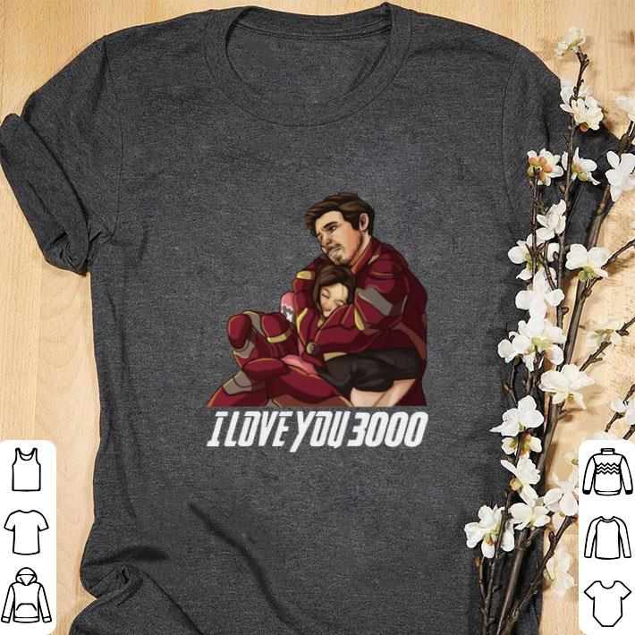 Download Nice Dad And Daughter Iron Man I Love You 3000 shirt ...