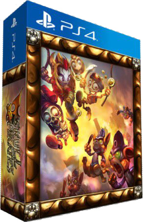 SkullPirates PS4 PS Vita Kickstarter Cover