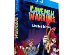 caveman warriors limited edition play-asia exclusive ps4 cover