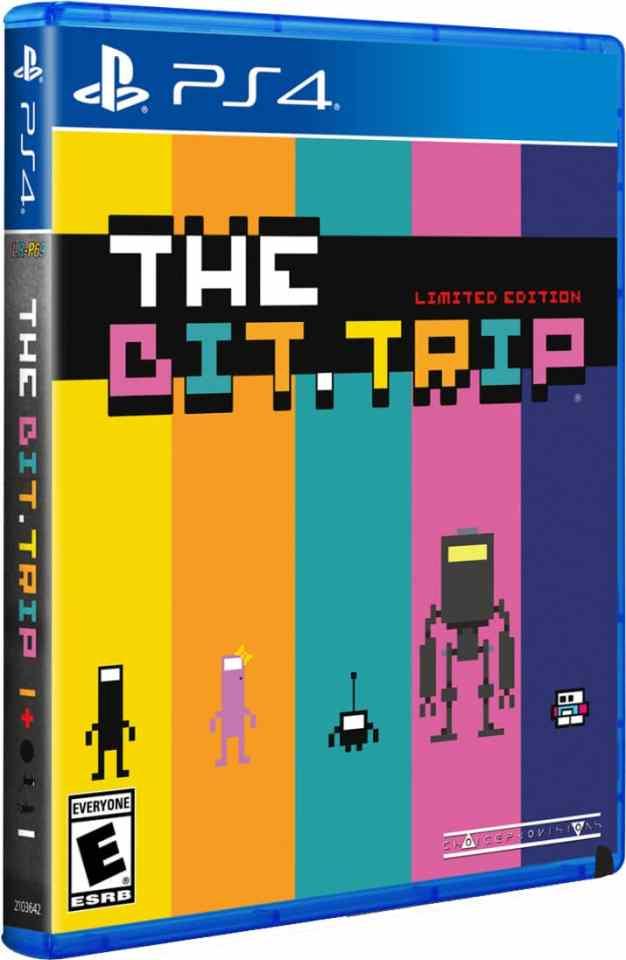 the bit.trip limitedrungames.com ps4 cover