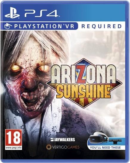 arizona sunshine vertigo games jaywalkers interactive ps4 psvr cover