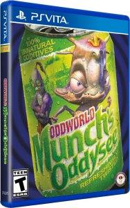 oddworld munchs oddysee hd limitedrungames.com ps vita cover