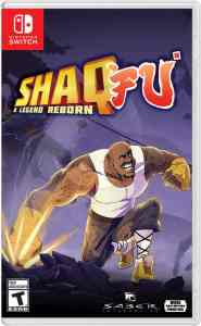 shaq fu a legend reborn wired productions nintendo switch xbox one ps4 cover