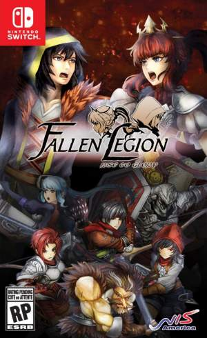 fallen legion rise to glory nis america nintendo switch cover