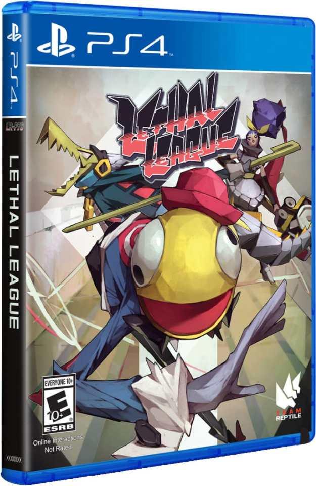 lethal league limitedrungames.com ps4 cover