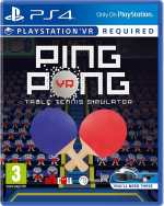 ping pong vr table tennis simulator ps4 psvr cover