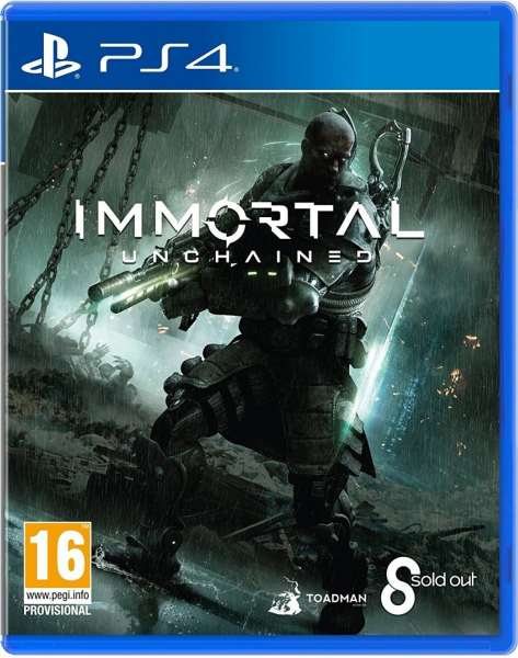 Immortal Unchained for PS4   Xbox One   Limited Game News immortal unchained sold out games real ps4 cover