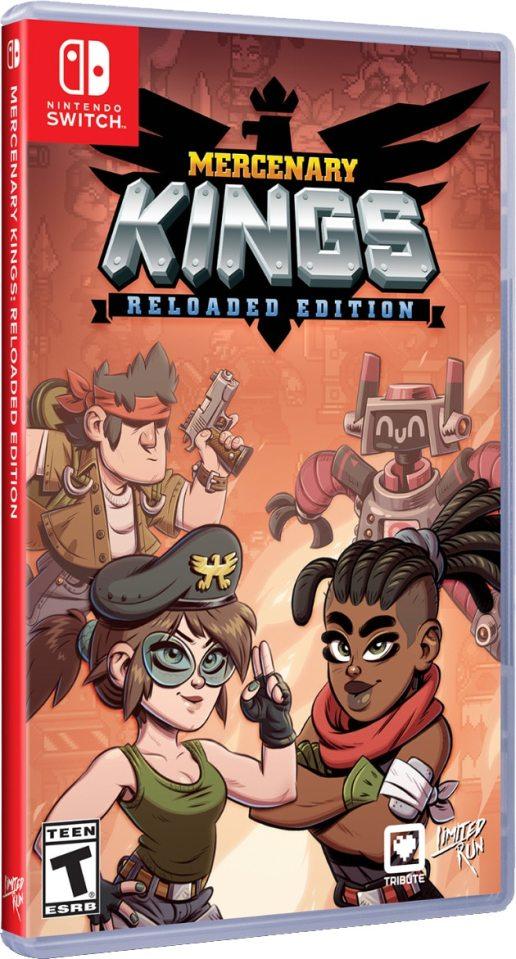 mercenary kings reloaded edition limitedrungames.com nintendo switch cover