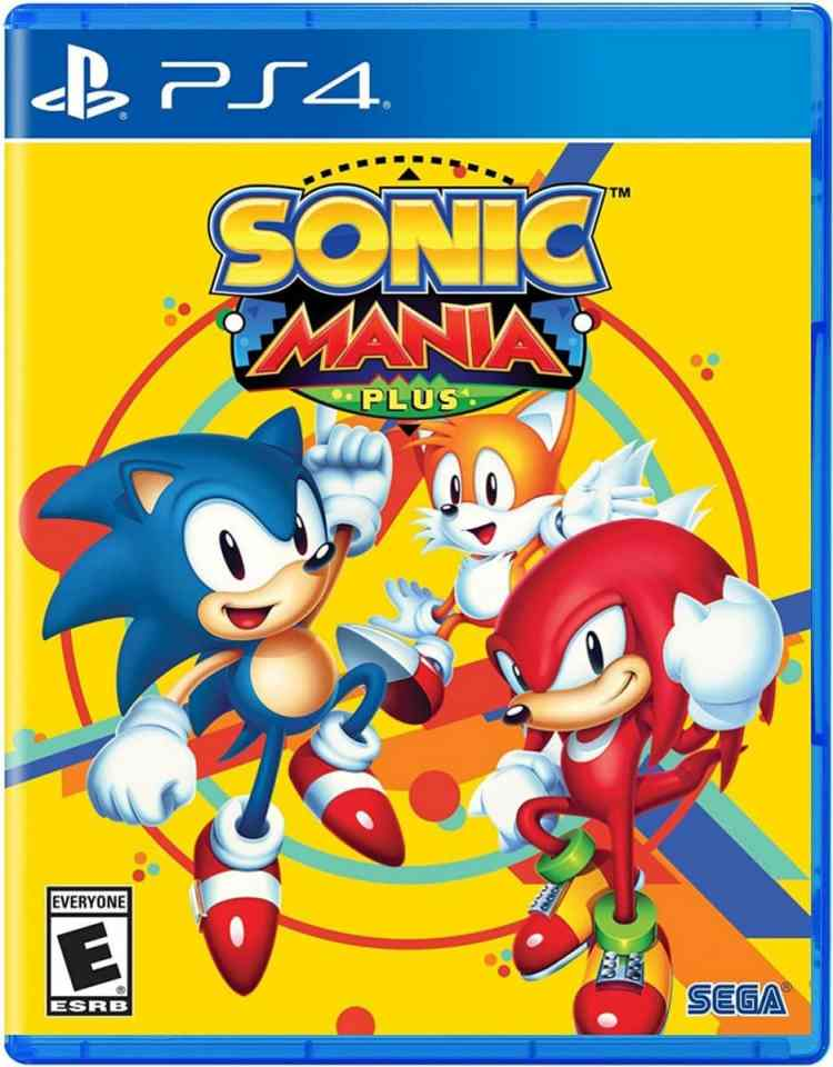Sonic Mania Plus Sega Nintendo Switch Ps4 Cover Limited Game News