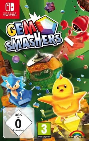 gem-smashers markt und technik nintendo switch cover