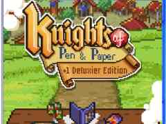 knights of pen and paper plus 1 deluxier edition behold studios seaven studio strictlylimitedgames.com ps4 cover