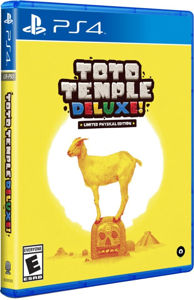 toto temple deluxe limitedrungames.com ps4 cover
