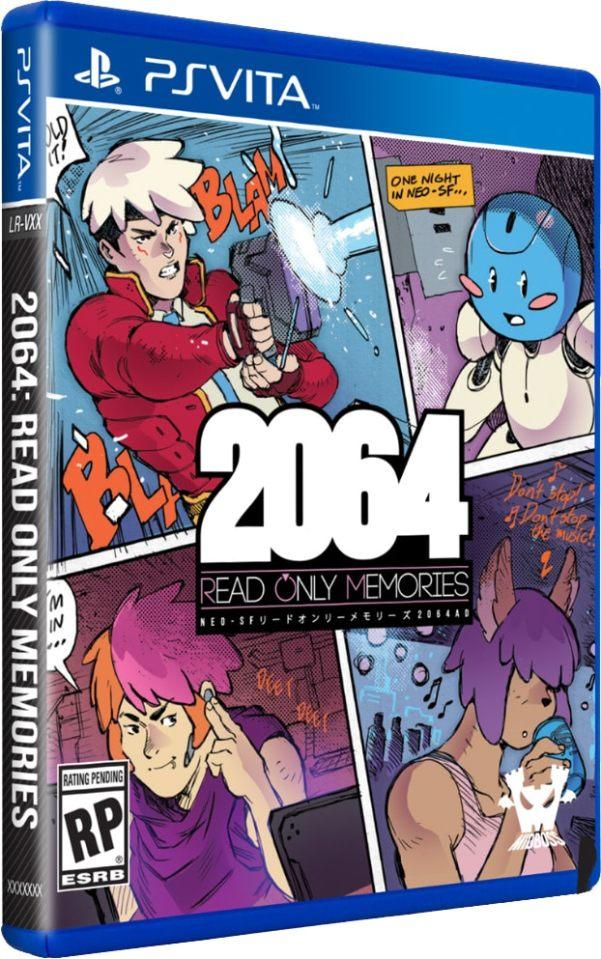 2064 read only memories limitedrungames.com ps vita cover