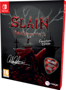 slain back from hell signature edition games limitedgamenews.com nintendo switch cover