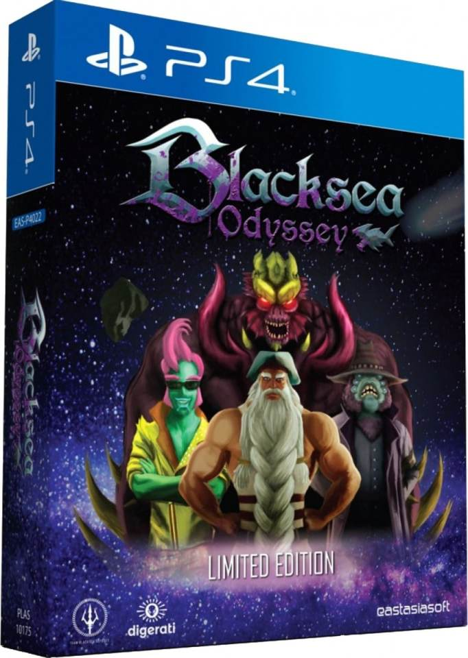 blacksea odyssey limited edition digerati limitedgamenews.com ps4 cover
