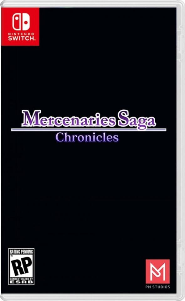 mercenaries saga chronicles pm studios limitedgamenews.com nintendo switch cover